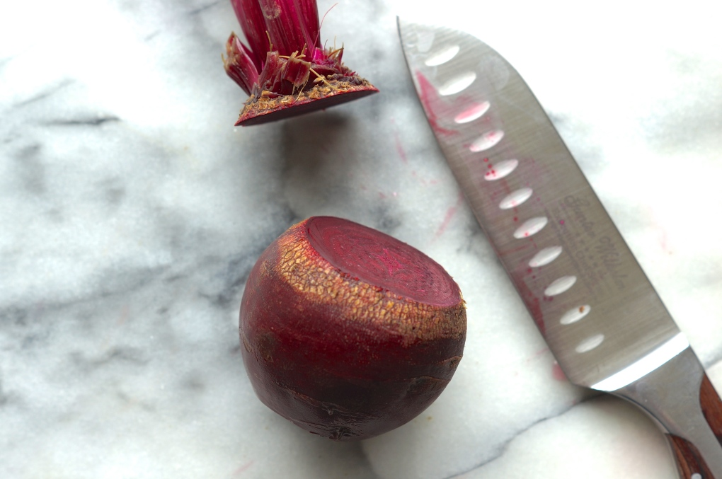 Beheaded beet