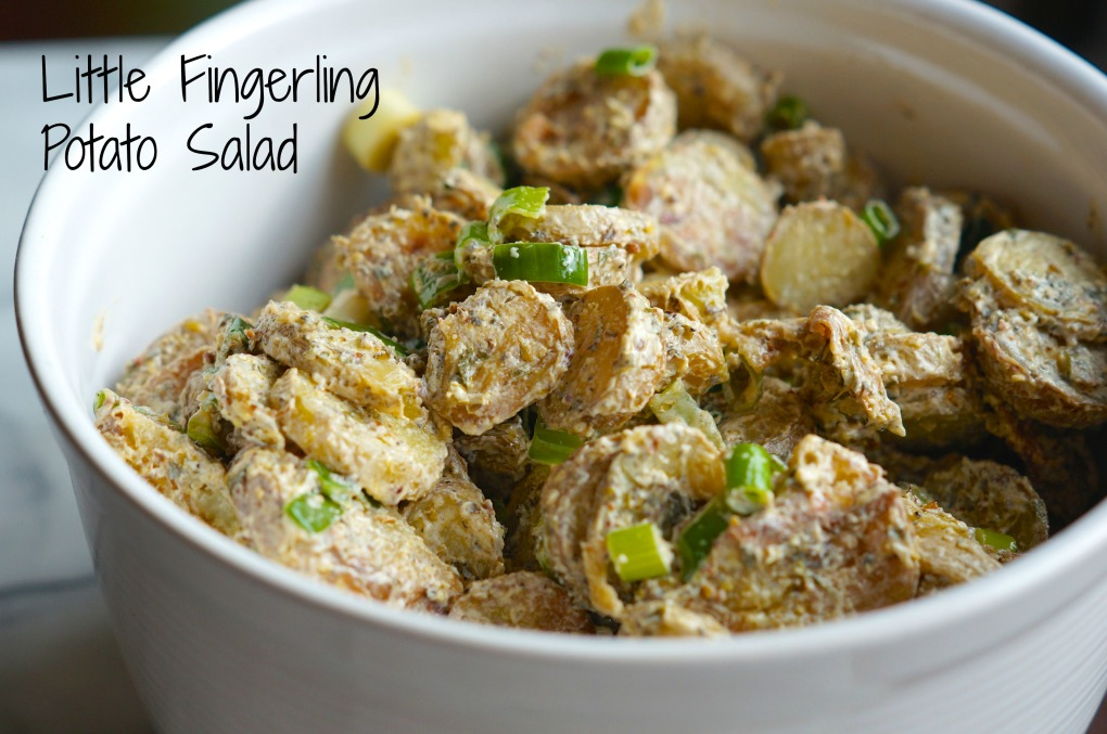 Roasted Herbed Potato Salad